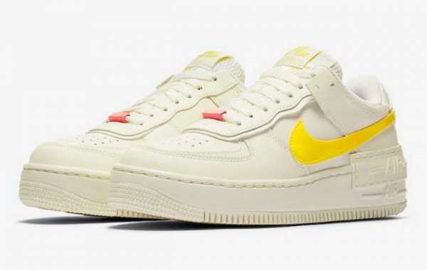 Latest Opti Yellow Nike Air Force 1 Shadow CZ0375-100