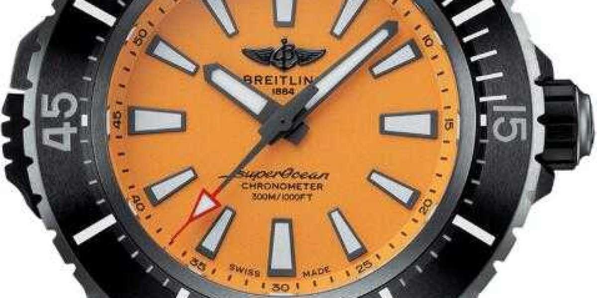 Breitling SUPEROCEAN AUTOMATIC 46 BLACK STEEL U17368221B1S1 Watch Replica