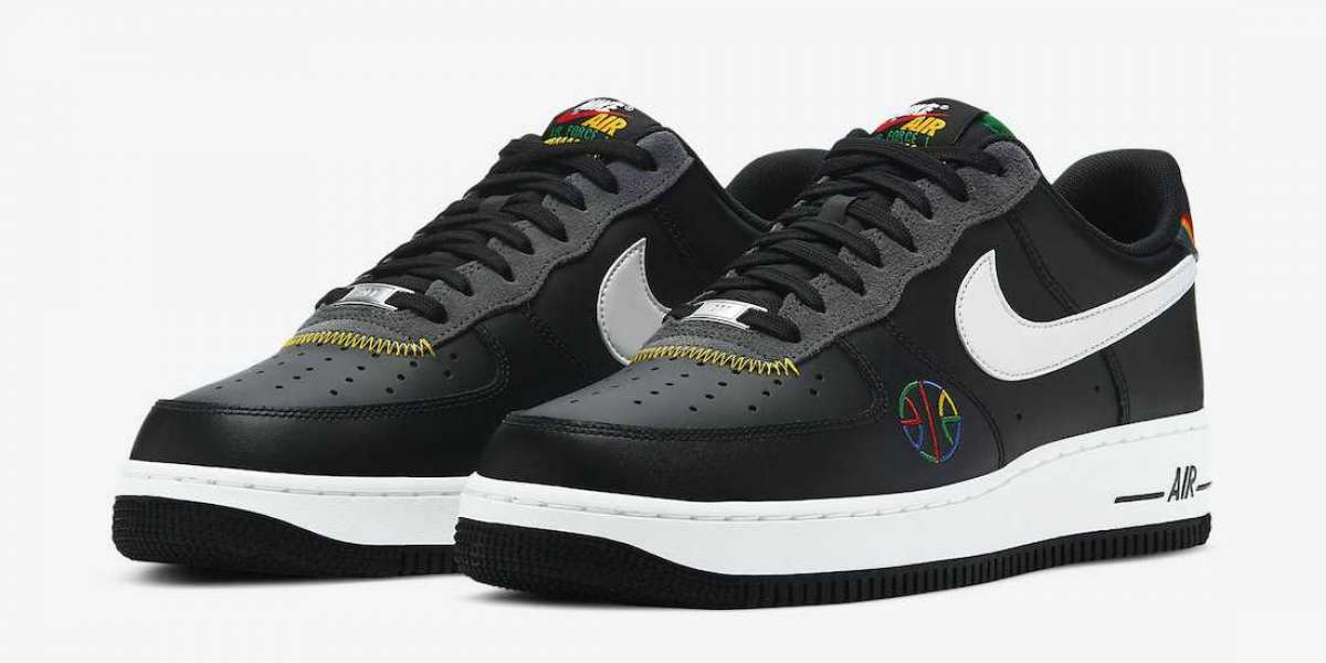 """New Sale Nike Air Force 1 Low """"Live Together, Play Together"""" Basketball Shoes DC1483-001"""
