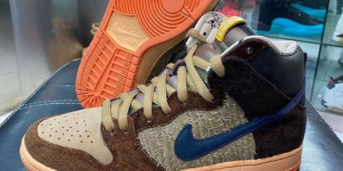 DC6887-200 Concepts x Nike SB Dunk High Pro QS will be released in December 2020