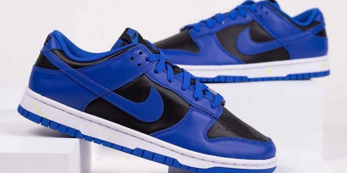 "DD1391-001 Nike Dunk Low ""Hyper Cobalt"" Sneaker will release in Early 2021"