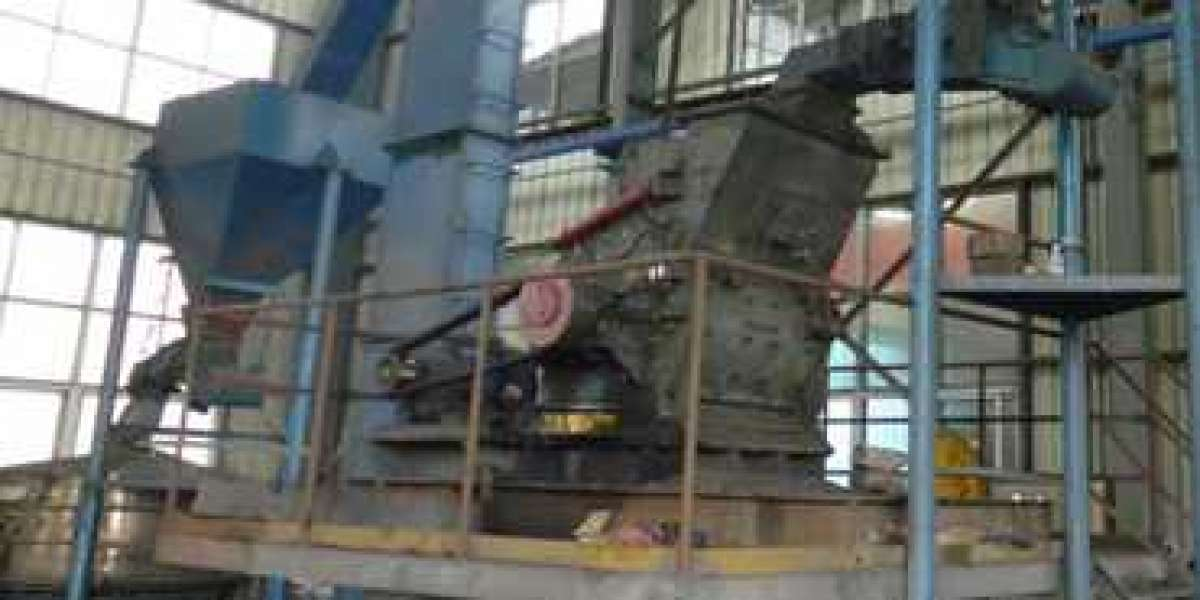 Check Chamber Of Vertical Roller Mill