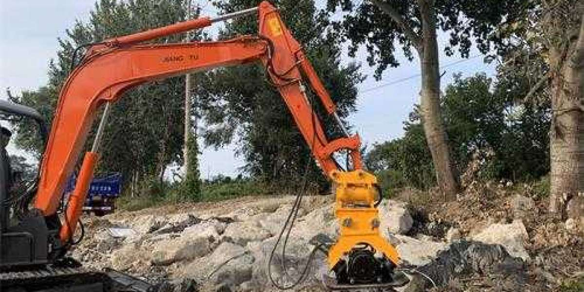 What is a quick connector on an excavator?