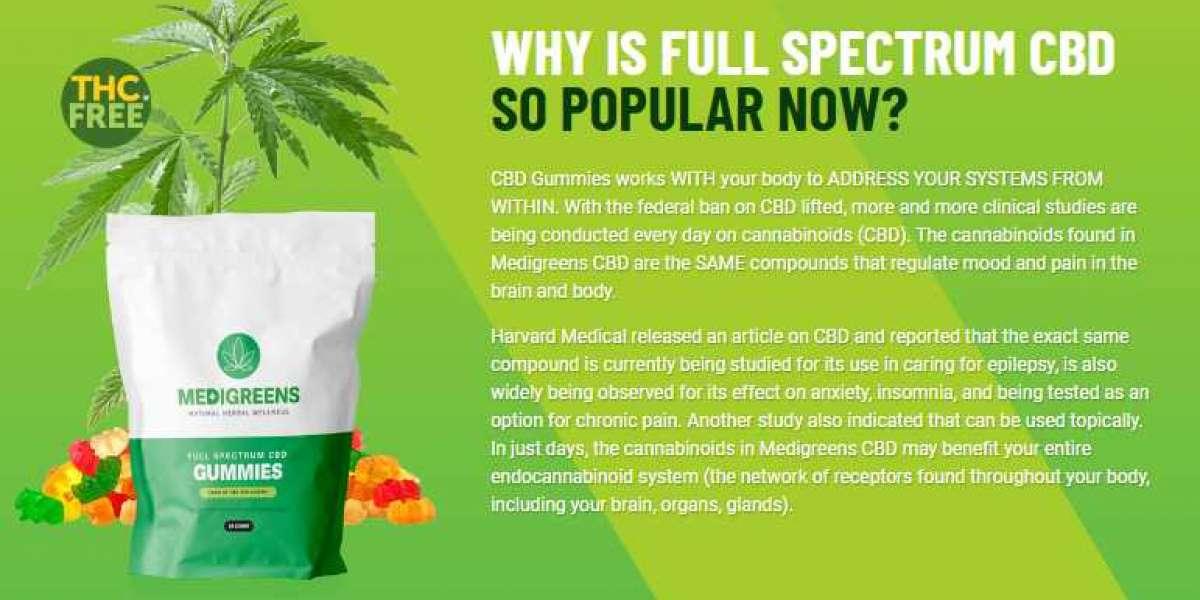 Medi Greens CBD Gummies Ingredients