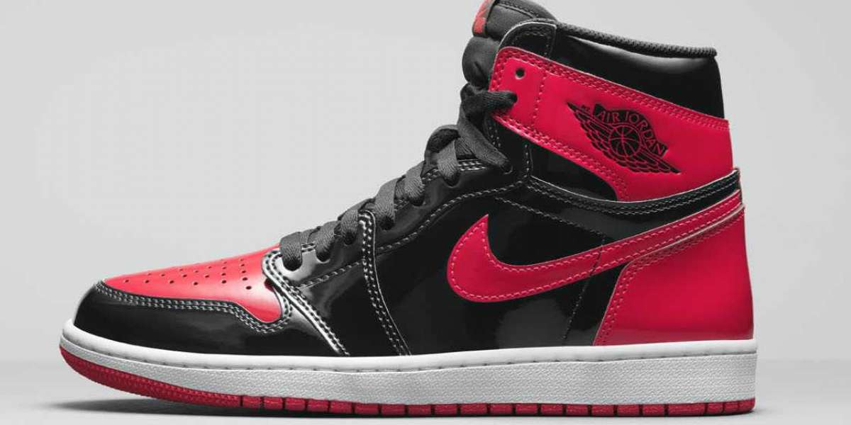 "Best Price Air Jordan 1 High OG ""Bred Patent"" For Sale"