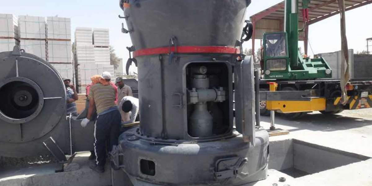 The Cylinder Of The Vertical Roller Mill