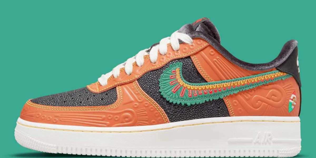 """DO2157-816 Nike Air Force 1 Low """"Siempre Familia"""" Released Date"""